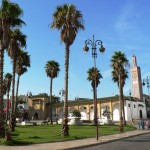 Plaza and mosque Tangier