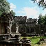 Preah Khan temple view
