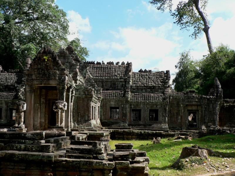 Preah Khan temple view