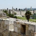 Ramparts Old Jerusalem city