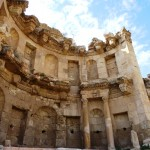 Roman propylaeum Jerash