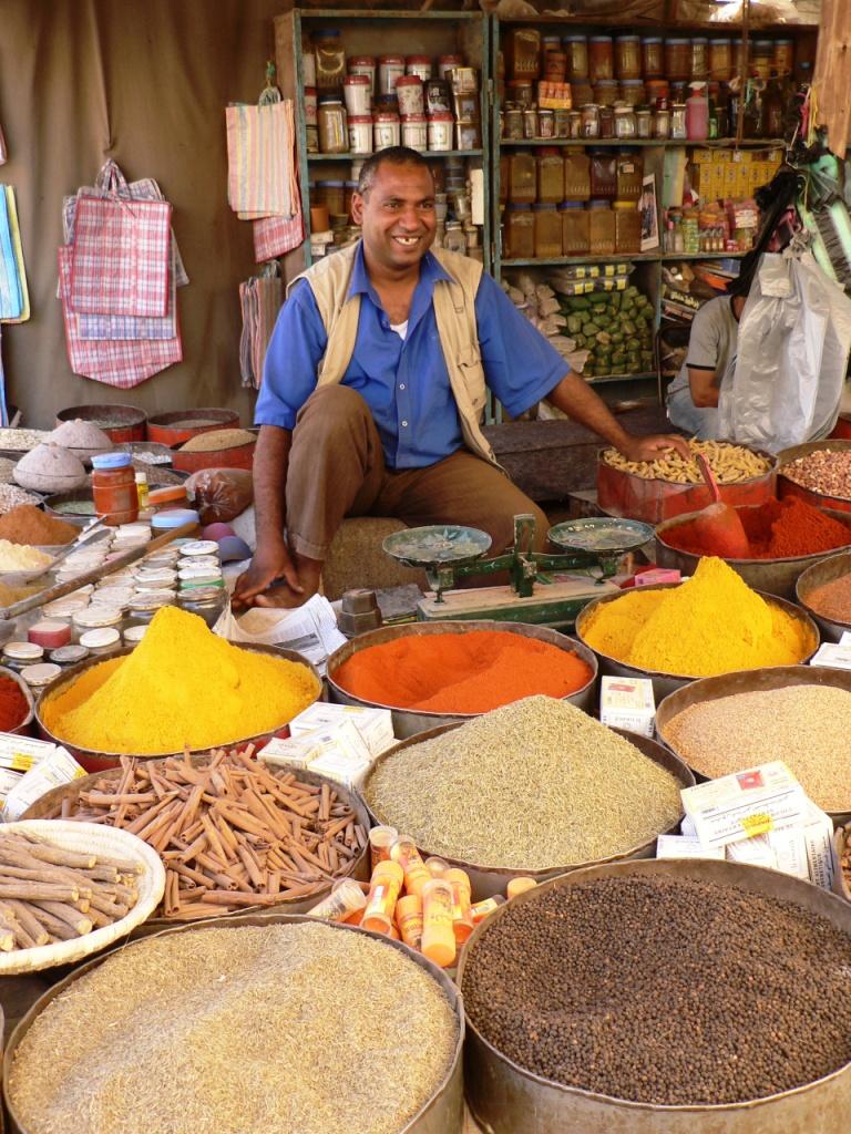 Spice merchant Draa Valley
