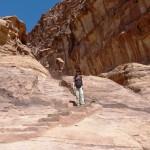 Stone stairs Petra