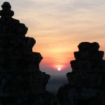 Sunset Bakkheng Temple