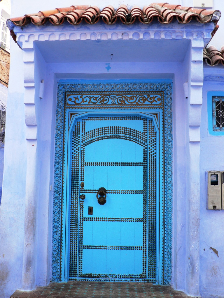 Superb doors Chefchaouen