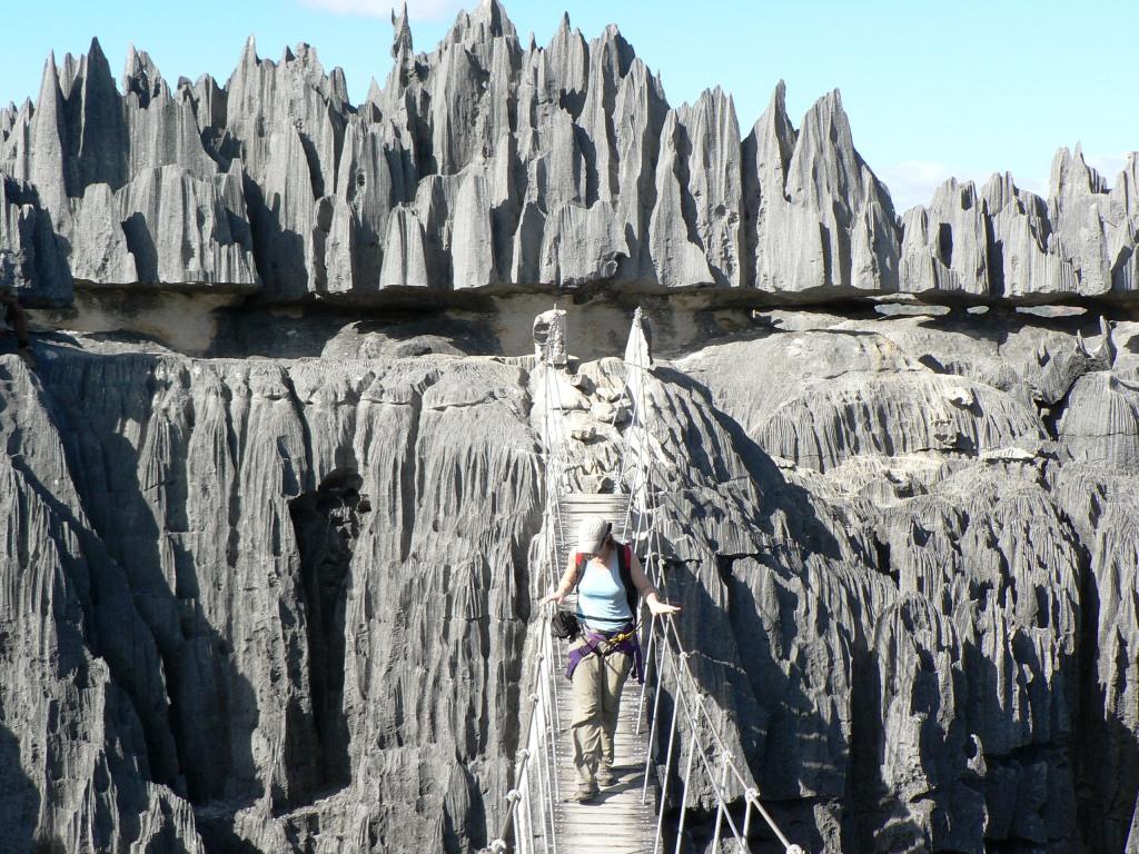 Susp bridge Tsingy de Bemaraha