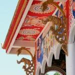 Temple detail Vientiane