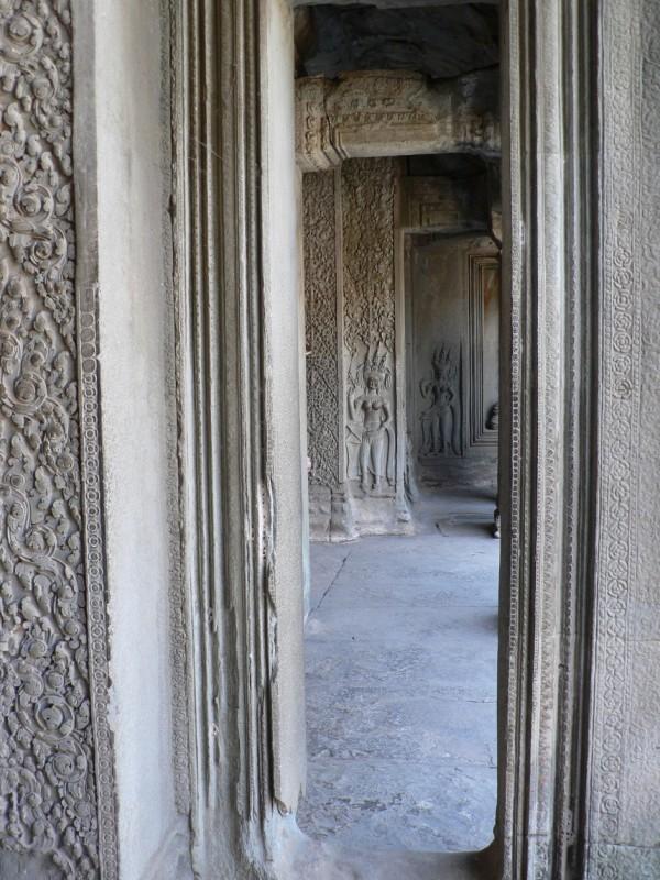 Temple doorways