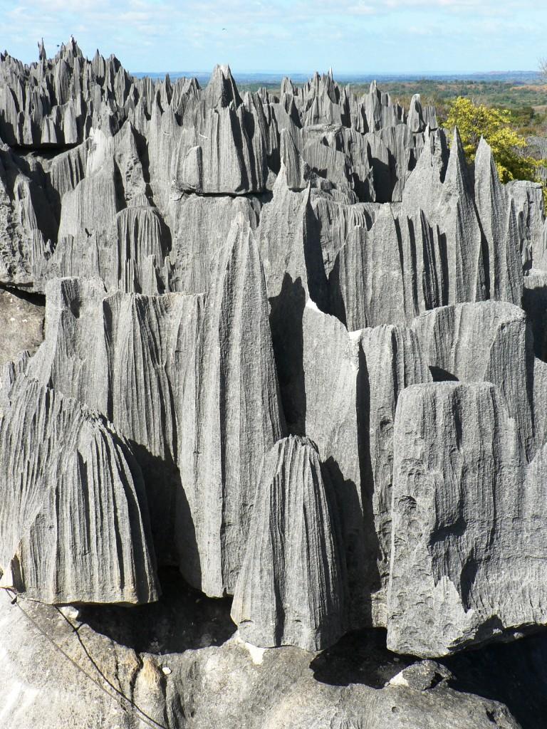 Tsingy pinnacles