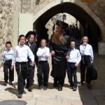 Ultra orthodox Jews Old Jerusalem