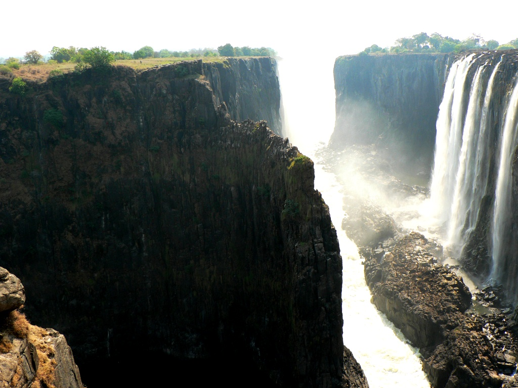 Vic Falls Cataract view