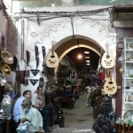 Walking the souqs Marrakesh