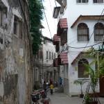 Zanzibar narrow lanes