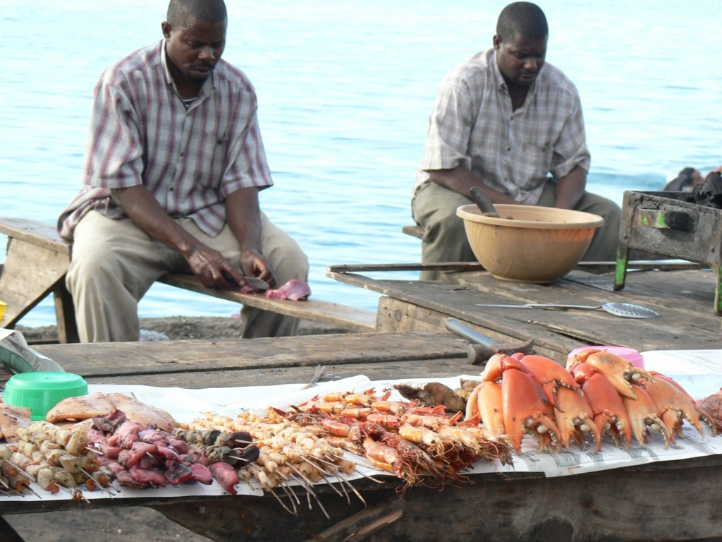 Zanzibar street eats