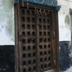 Zanzibari carved door