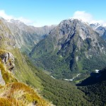 Views of Arthur Valley Milford Track
