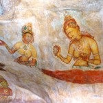 Ancient frescoes Sigirya