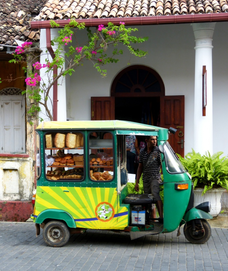 Baker streets of Galle