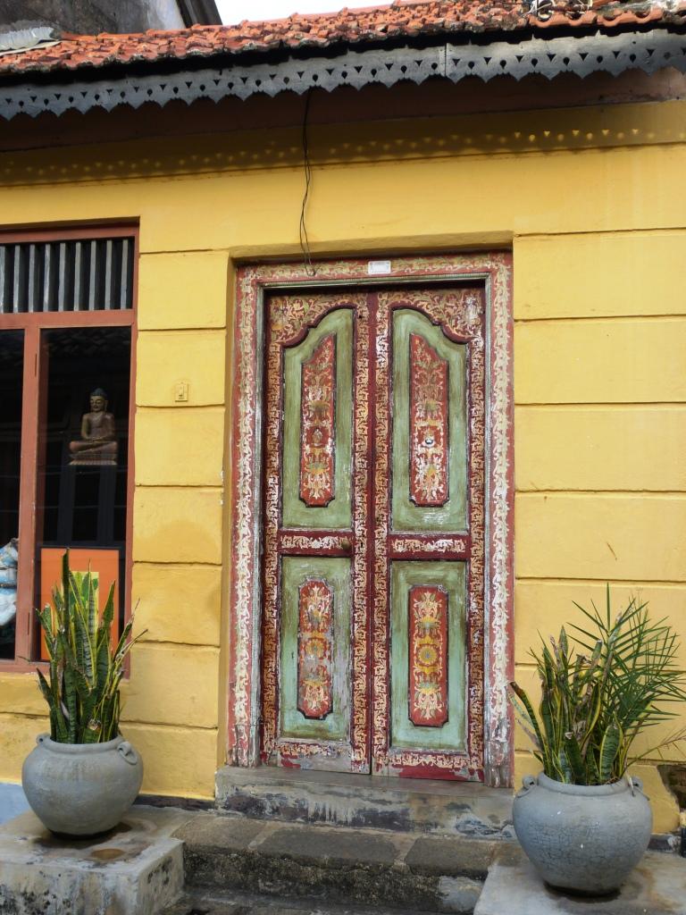 Galle Fort painted door
