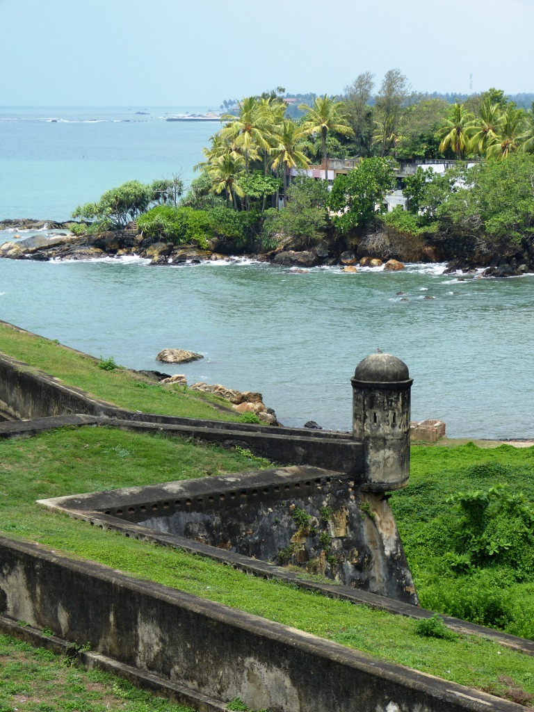 Galle fort and coastline