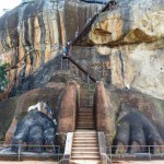 Lion staircase Sigirya Rock