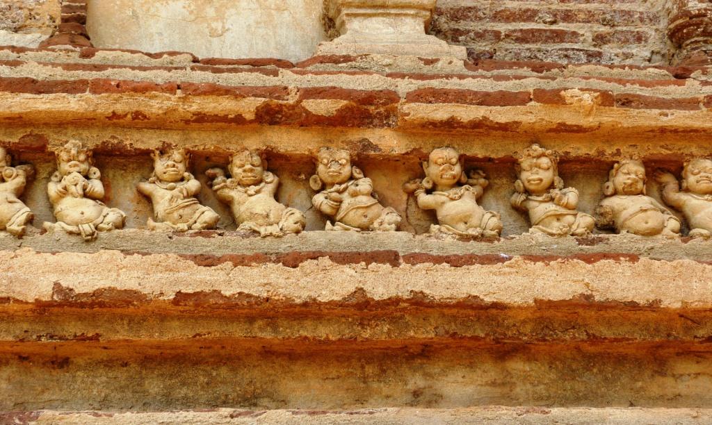 Merry dancing dwarves Polonnaruwa