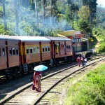 Old fashioned train travel