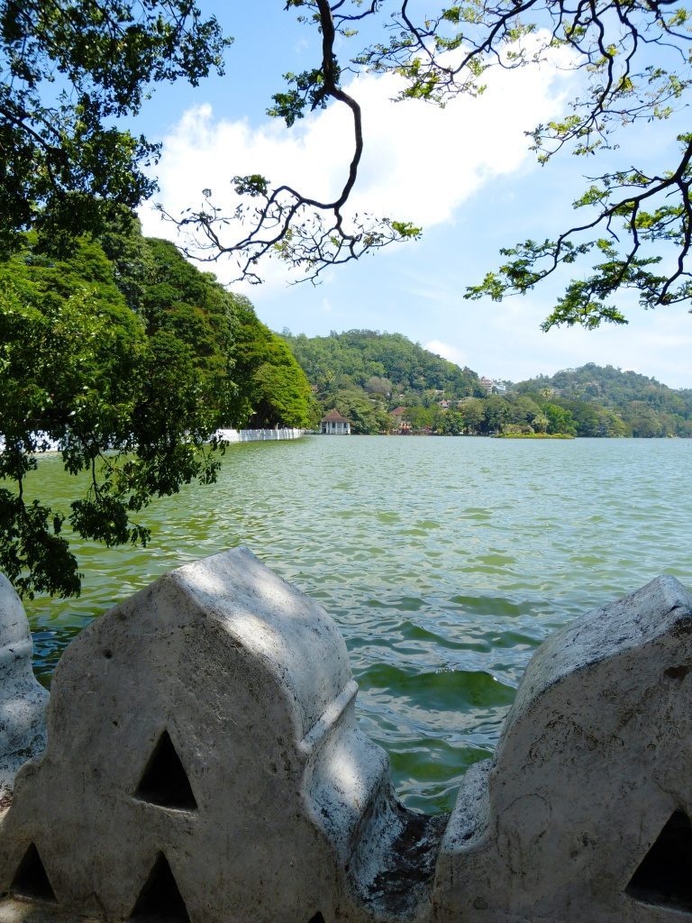 View over Kandy Lake