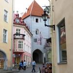 Cobblestone streets Tallinn