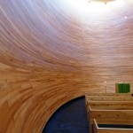 Inside Kamppi chapel