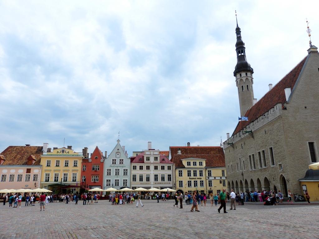 Old Tallinn main square