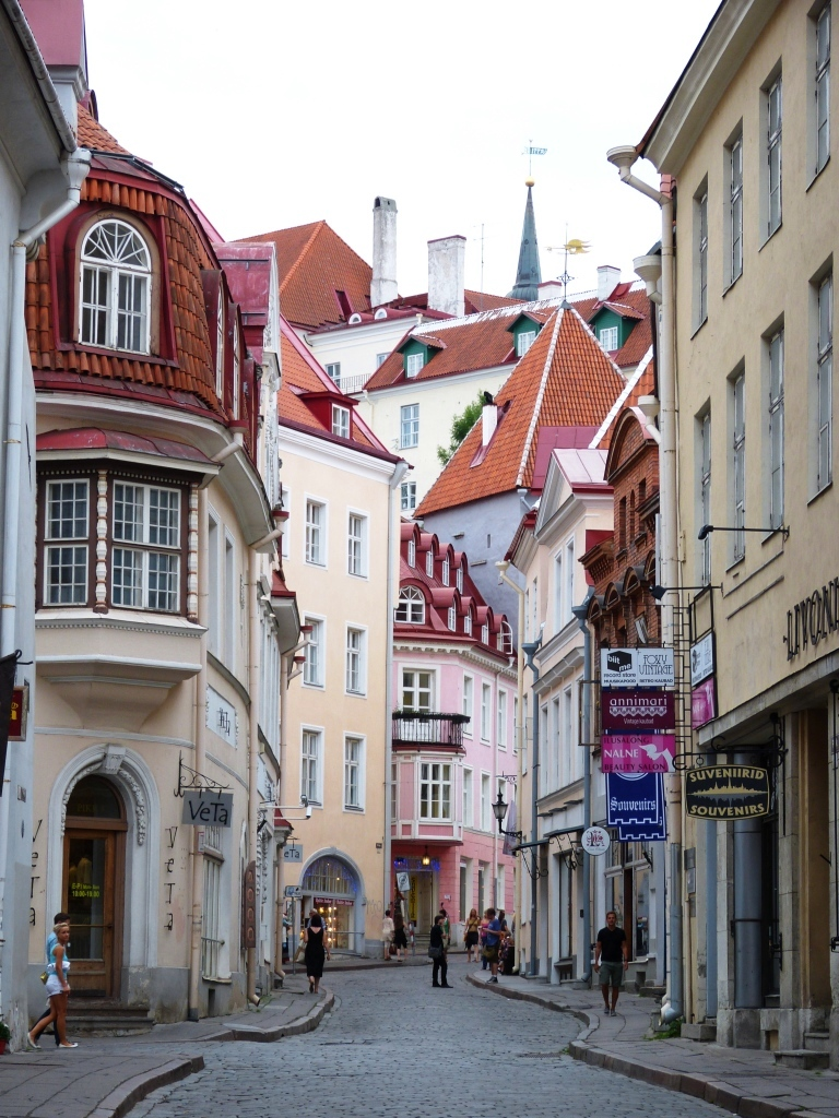Streets of old Tallinn