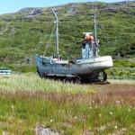 boat dry dock Narsarsuaq