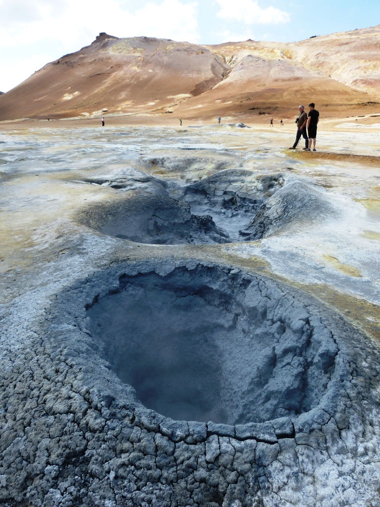 boiling mud pools Krafla