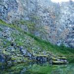 canyon walls Jokulsargljfur