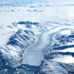 icecap and glacier Greenland
