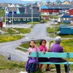 local kids Narsaq