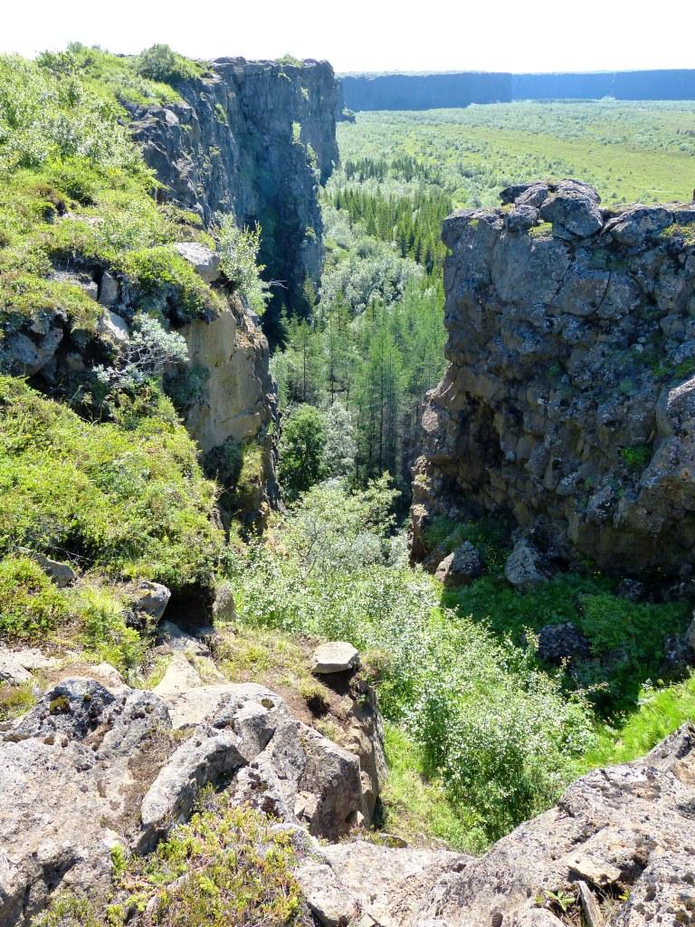 views Jokulsar canyon