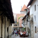 wandering old town Tallinn