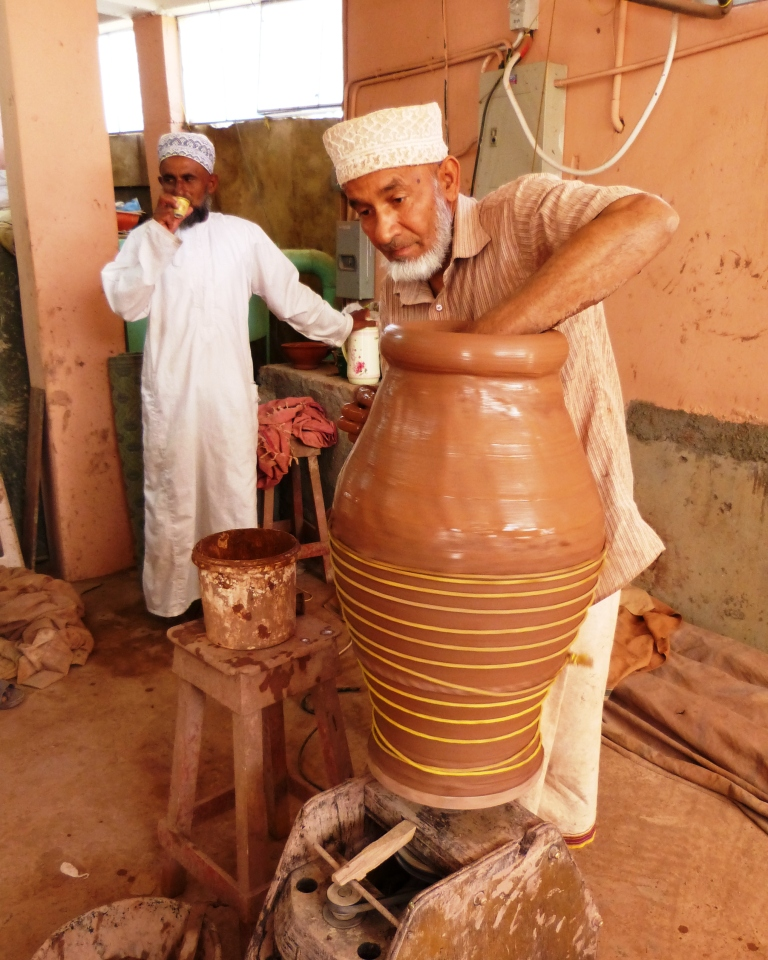 Bahla traditional potter-