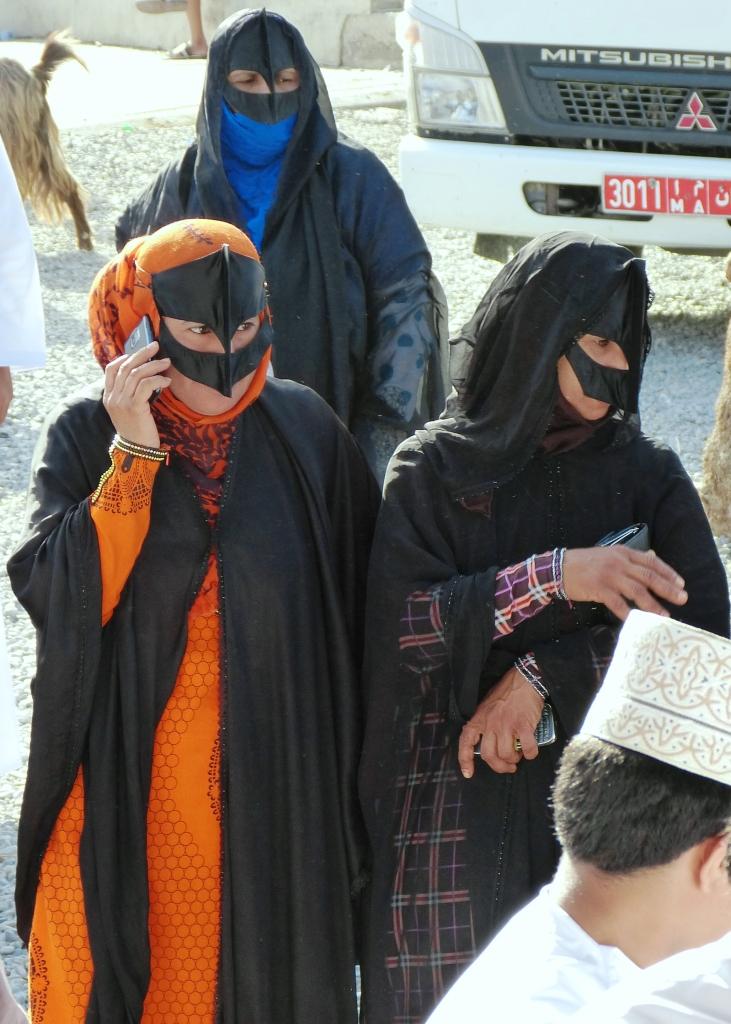 Bedouin women Nizwa-