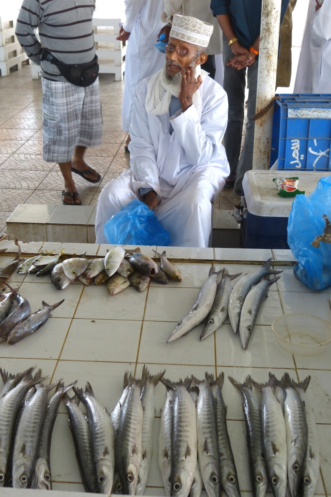 Fish market characters-