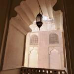 Jabrin castle archway-