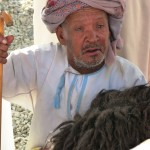 Old man Nizwa market-