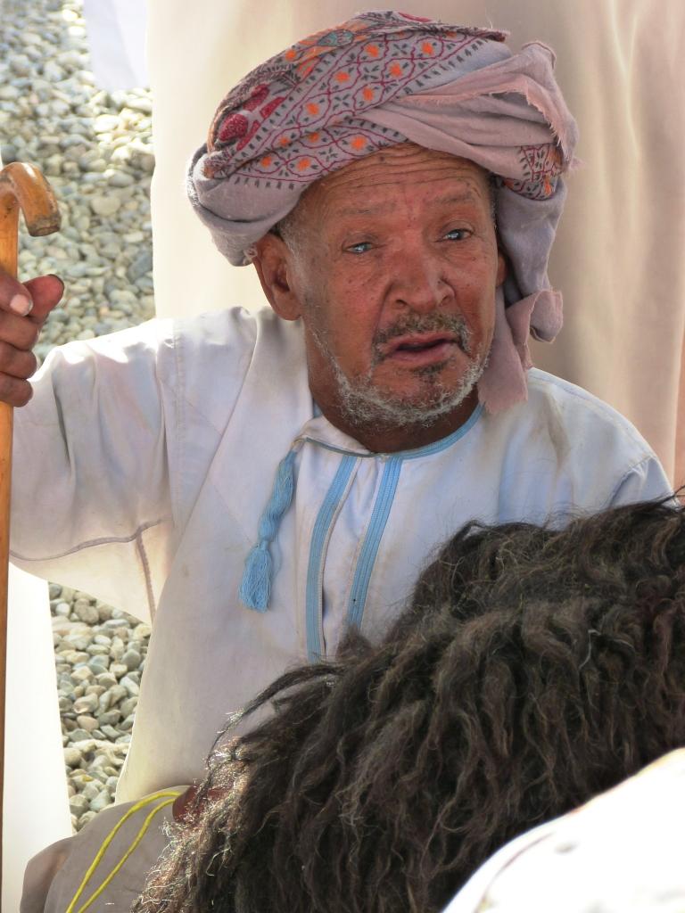 Old man Nizwa market-