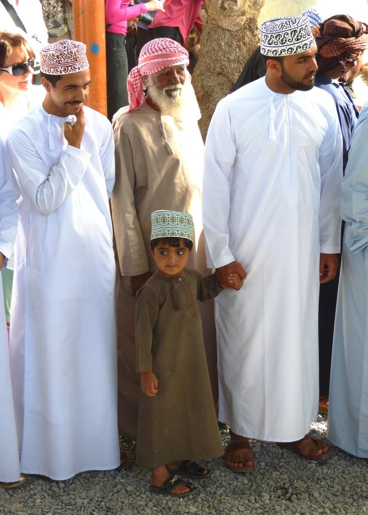 Omani family Nizwa-