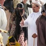 Scenes Nizwa livestock market-