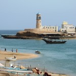 Sur lighthouse Oman-