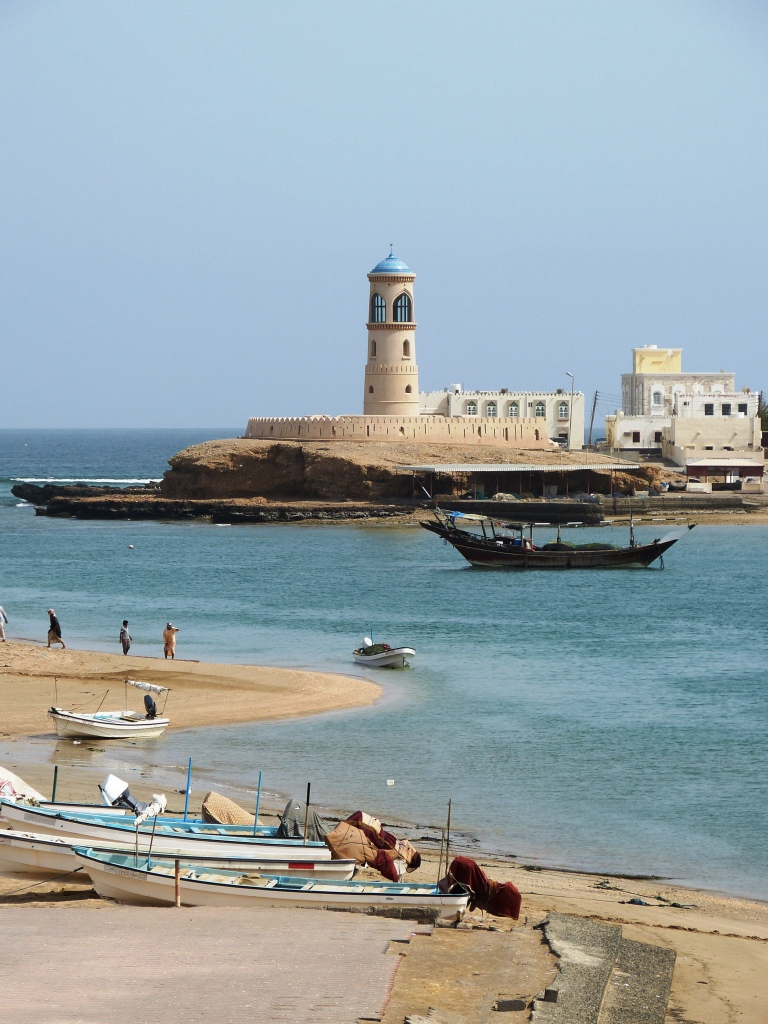 Sur lighthouse Oman-