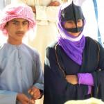 Young bedouins Nizwa market-